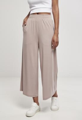 Pantaloni Culottes Modal pentru Femei bej Urban Classics