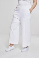 Pantaloni Culottes pentru Femei alb