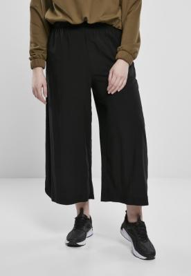 Pantaloni Culottes Wide vascoza pentru Femei negru Urban Classics