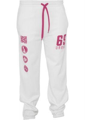 Pantaloni jogging sport cu imprimeu si snur femei