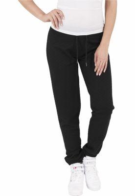 Pantaloni jogging cu aspect matlasat
