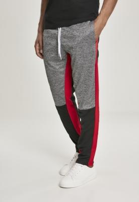 Pantaloni de trening Color Block Marled negru Southpole