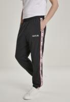Pantaloni de trening Hustler Tape b negru Merchcode