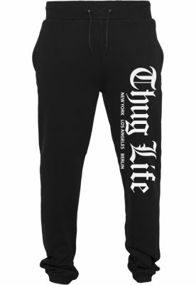 Pantaloni sport Thug Life Cities negru