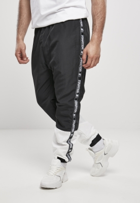 Pantaloni jogging Starter Two Toned negru-alb