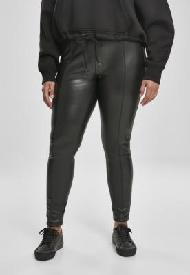 Pantaloni piele ecologica Skinny pentru Femei negru Urban Classics