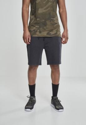 Pantaloni scurti Acid Wash negru Urban Classics