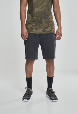 Pantaloni scurti Acid Wash negru