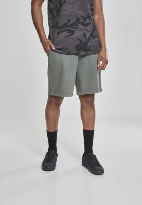 Pantaloni scurti Acid Wash oliv