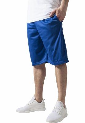 Pantaloni scurti baschet plasa cu buzunare albastru roial Urban Classics