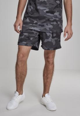 Pantaloni scurti Camo plasa inchis-camuflaj Urban Classics