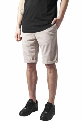 Pantaloni scurti chino stretch nisip Urban Classics