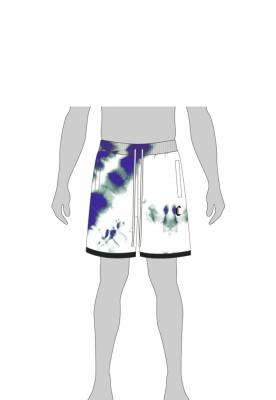 Sort sport CSBL Meaning Of Life Tie Dye alb-albastru Cayler and Sons
