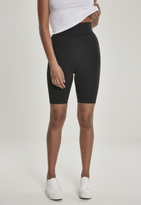 Pantaloni scurti cu talie inalta ciclism pentru Femei negru Urban Classics