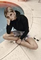 Pantaloni scurti Cycle Pattern pentru Femei snake Urban Classics