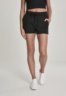 Pantaloni scurti Heavy Pique pentru Femei negru Urban Classics