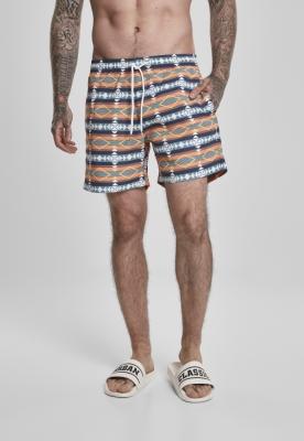 Pantaloni scurti inot Inka alb Urban Classics