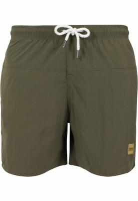 Pantaloni scurti inot oliv-oliv