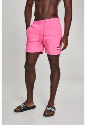 Pantaloni scurti inot roz neon Urban Classics