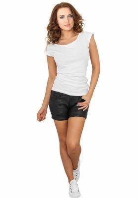 Pantaloni scurti piele ecologica femei