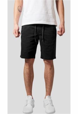 Pantaloni scurti sport Stretch Twill negru Urban Classics