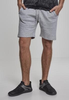 Pantaloni scurti Terry gri