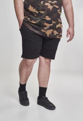 Pantaloni scurti Terry negru