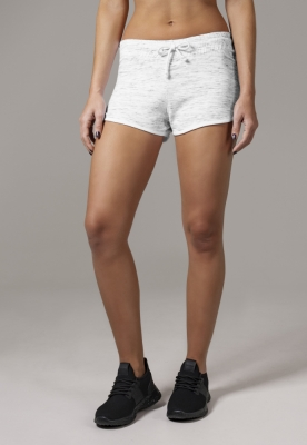 Pantaloni scurti urban pentru Femei alb-negru Urban Classics