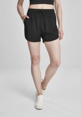Pantaloni scurti vascoza Resort pentru Femei negru Urban Classics