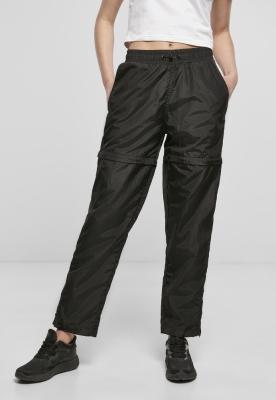 Pantaloni Shiny Crinkle Nylon Zip dama Urban Classics