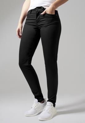 Pantaloni Skinny pentru Femei negru Urban Classics