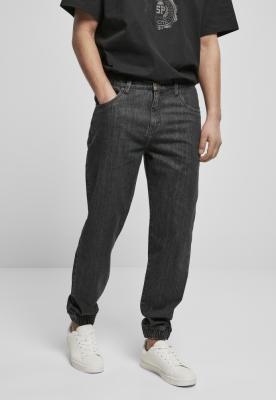 Pantaloni Southpole Denim Jogg negru-acid washed