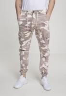 Pantaloni Sport Brushed Twill Camo creamcamo Urban Classics