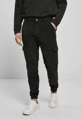 Pantaloni sport cargo din reiat negru Urban Classics