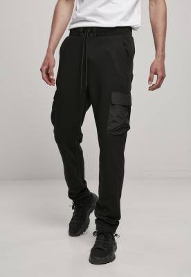 Pantaloni sport Commuter negru Urban Classics