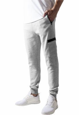 Pantaloni sport conici cu snur Athletic gri Urban Classics