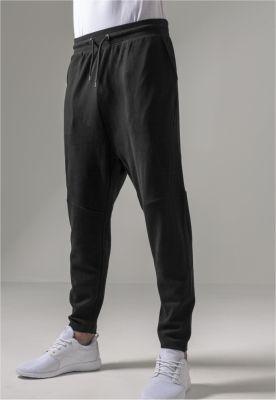 Pantaloni sport conici Interlock negru Urban Classics