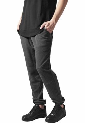 Pantaloni sport cu turul jos Terry Biker gri carbune Urban Classics
