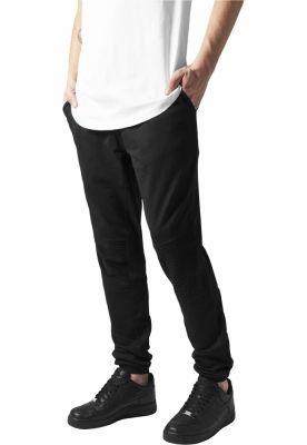 Pantaloni sport cu turul jos Terry Biker negru Urban Classics