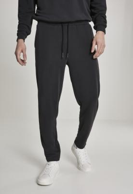 Pantaloni sport Modal Terry conici negru Urban Classics