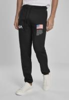 Pantaloni sport NASA negru Mister Tee