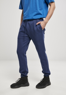 Pantaloni sport Organic Basic bleumarin Urban Classics