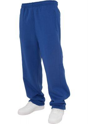 Pantaloni trening simpli pentru copii albastru roial Urban Classics