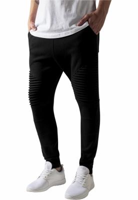 Pantaloni sport Pleat negru