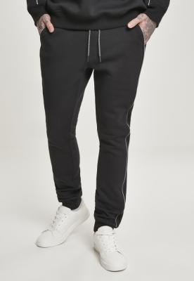 Pantaloni sport Reflective negru Urban Classics