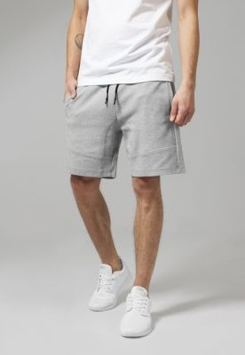 Pantaloni sport scurti Interlock gri Urban Classics