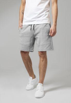 Pantaloni sport scurti Interlock gri