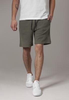 Pantaloni sport scurti Interlock oliv Urban Classics