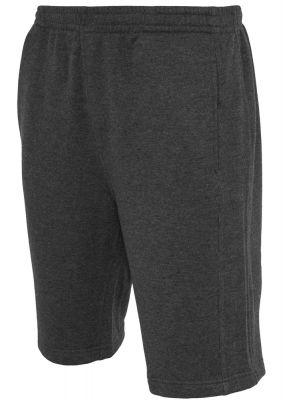 Pantaloni barbati largi scurti gri carbune Urban Classics