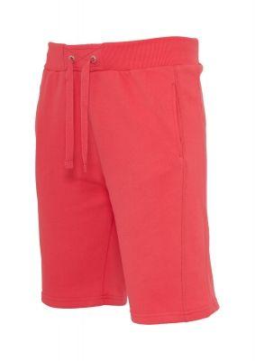 Pantaloni sport scurti Light Fleece rosu deschis Urban Classics